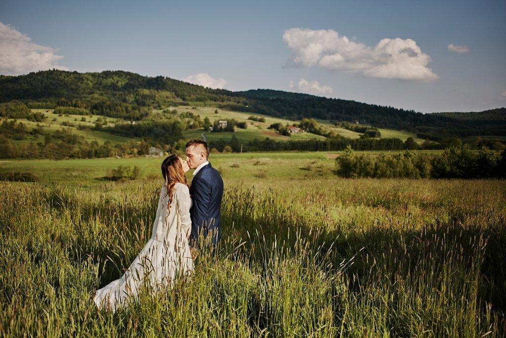 Fotografie ze ślubu - Plener Gosi i Grześka