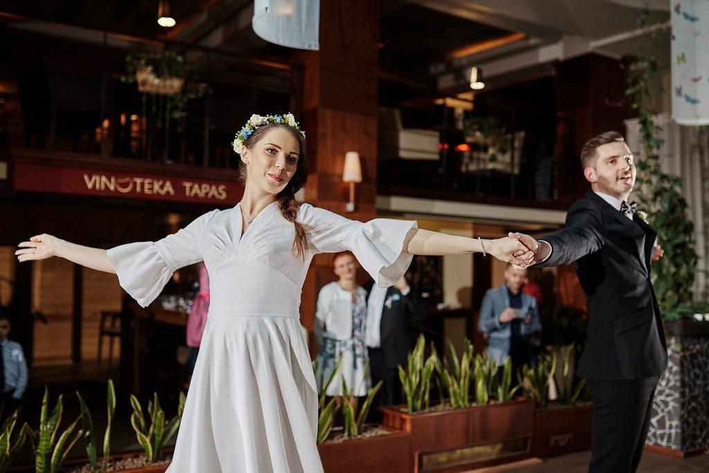 Fotografie ze ślubu - Ślub Asi i Piotra. Grand Hotel