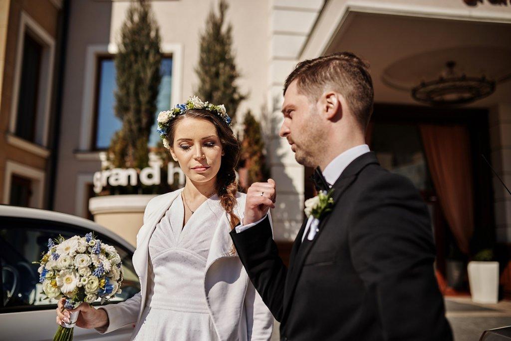 Ślubna fotografia - Ślub Asi i Piotra. Grand Hotel