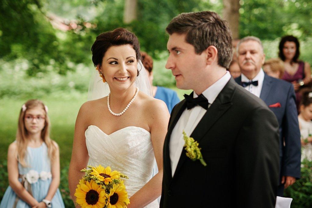 Ślub Pauliny i Radka w plenerze
