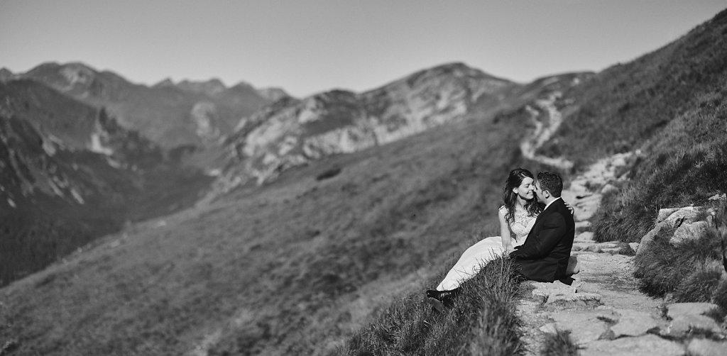Sesja ślubna - Sesja plenerowa w Tatrach