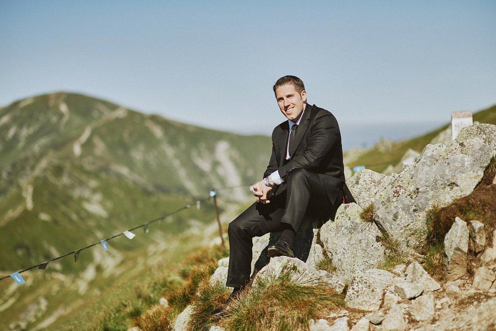 Album ślubny - Sesja plenerowa w Tatrach