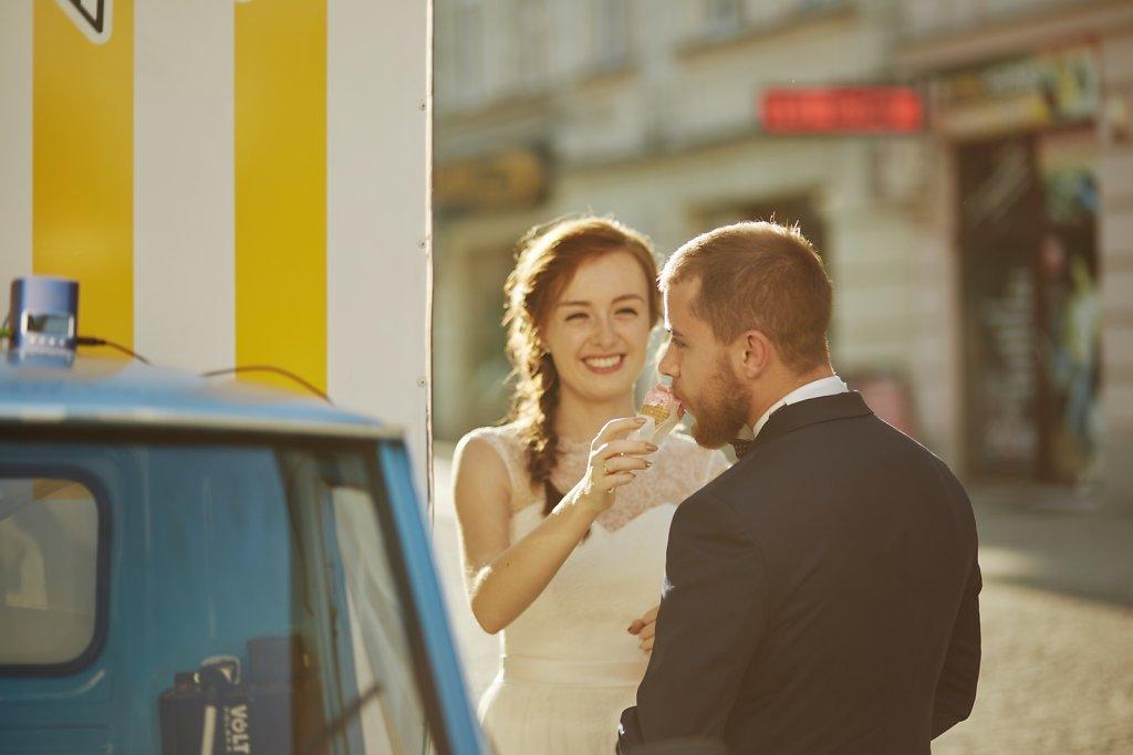 Fotografie ze ślubu - Sesja Asi i Radka w Przemyślu