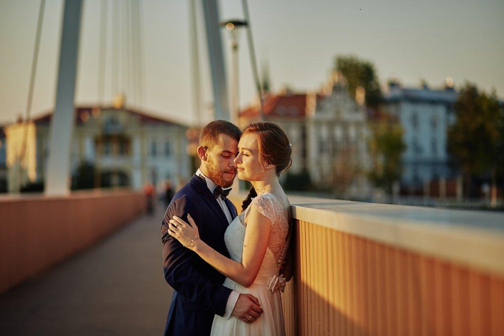 Ślubna fotografia - Sesja Asi i Radka w Przemyślu