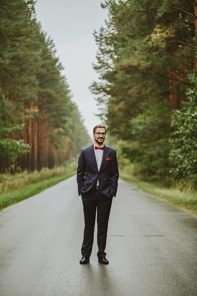 Ślubna fotografia - Plener ślubny z Kasią i Robertem