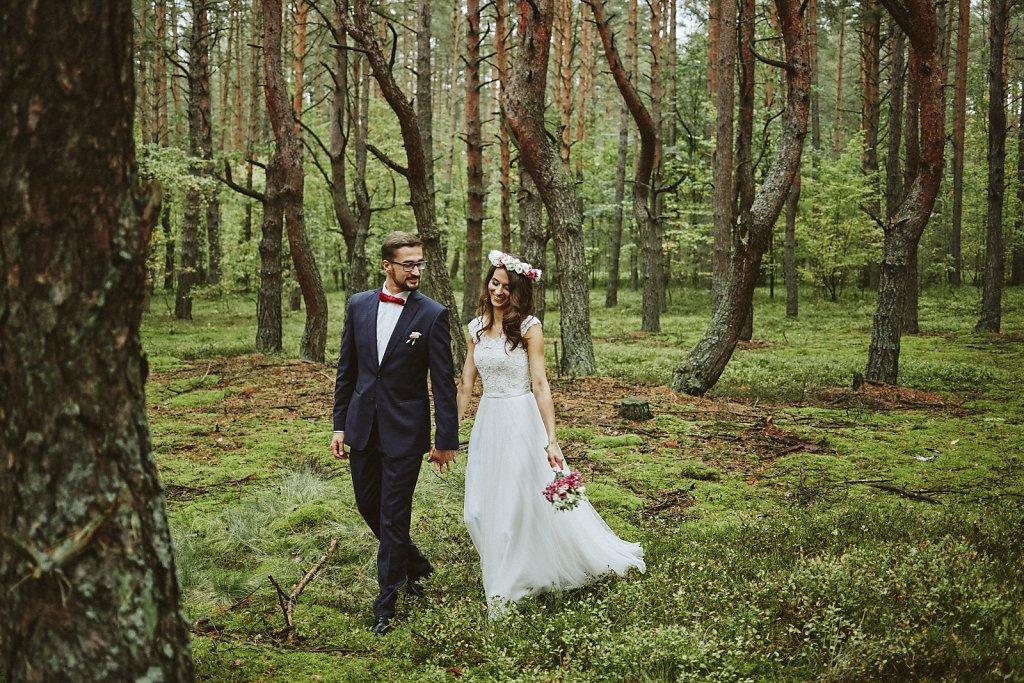 Fotografie ze ślubu - Plener ślubny z Kasią i Robertem