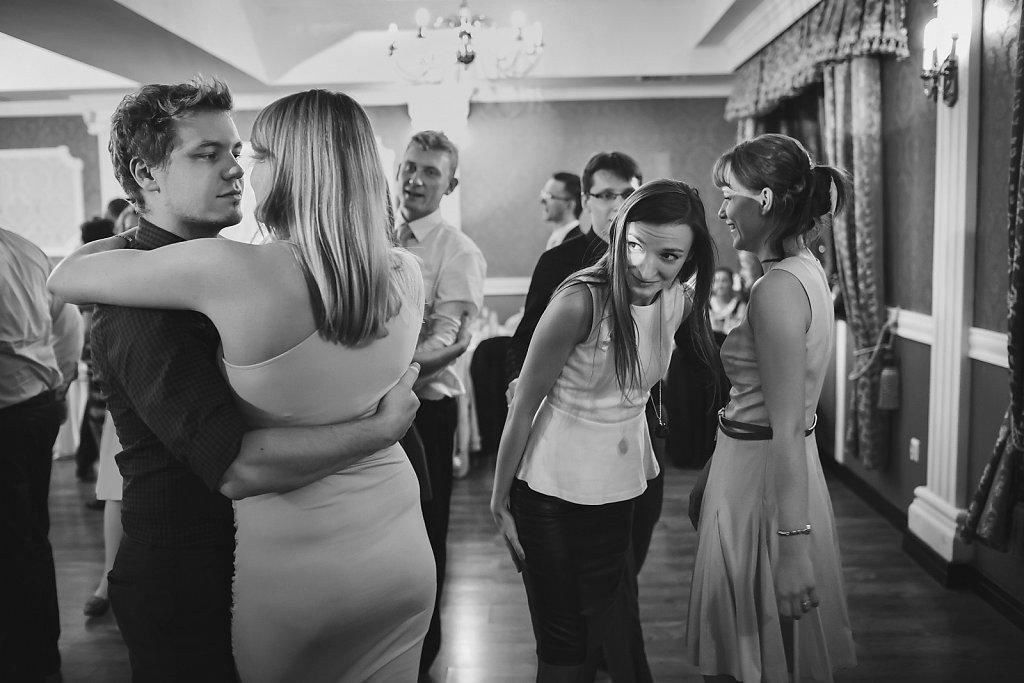 Sesja ślubna - Reportaż w czerni i bieli