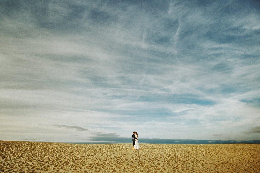 Sesja ślubna - Plener ślubny nad Bałtykiem