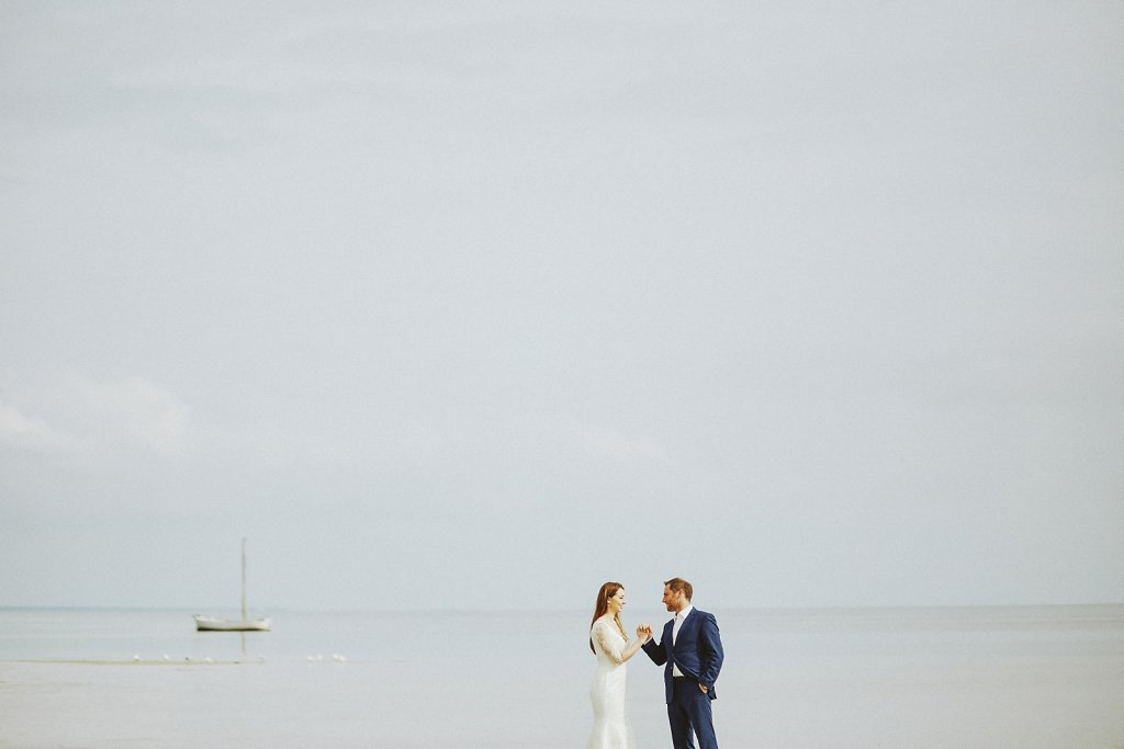 Ślubna fotografia - Plener ślubny nad Bałtykiem