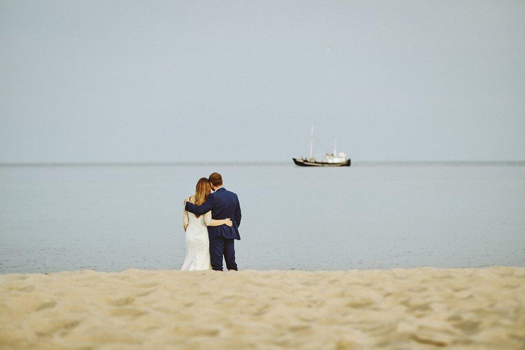 Fotografie ze ślubu - Plener ślubny nad Bałtykiem