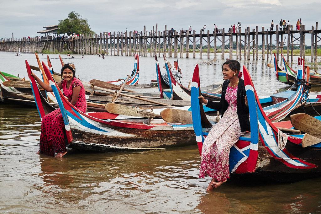 Burma - Myanmar, lipiec 2014