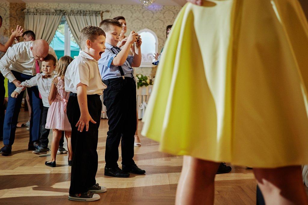 Album ślubny - Dzieci na weselu