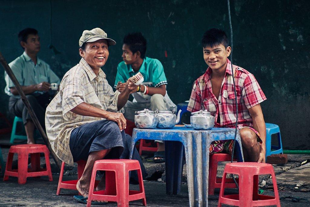 Birma - Rangun (2014)