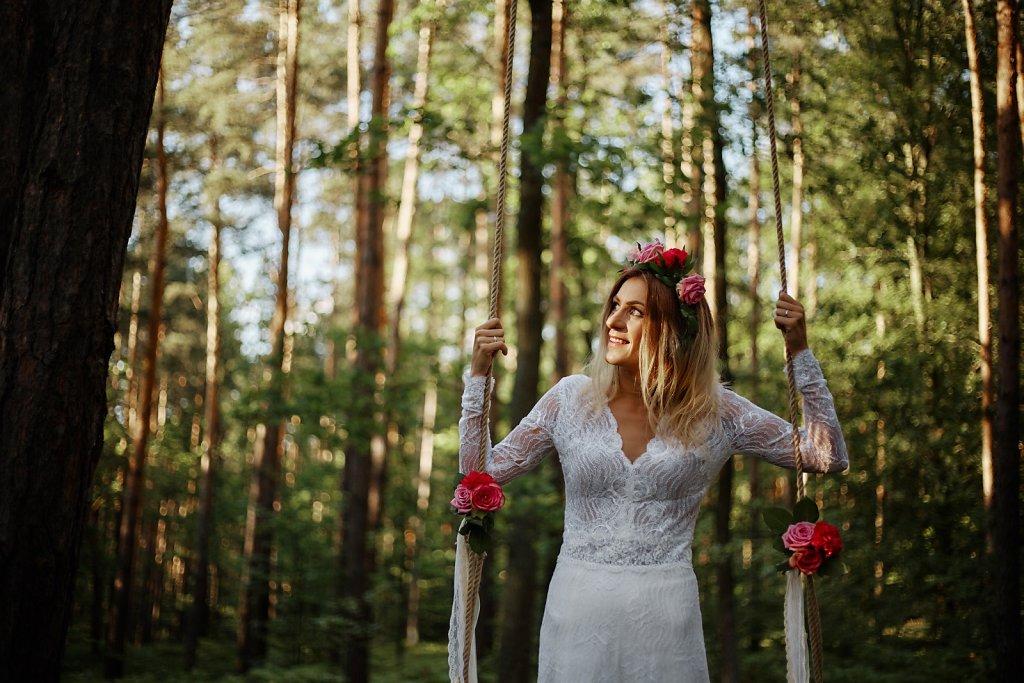 Sesja ślubna - Sesja ślubna z pasją
