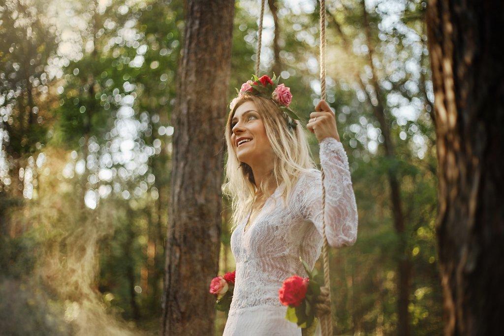 Ślubna fotografia - Sesja ślubna z pasją