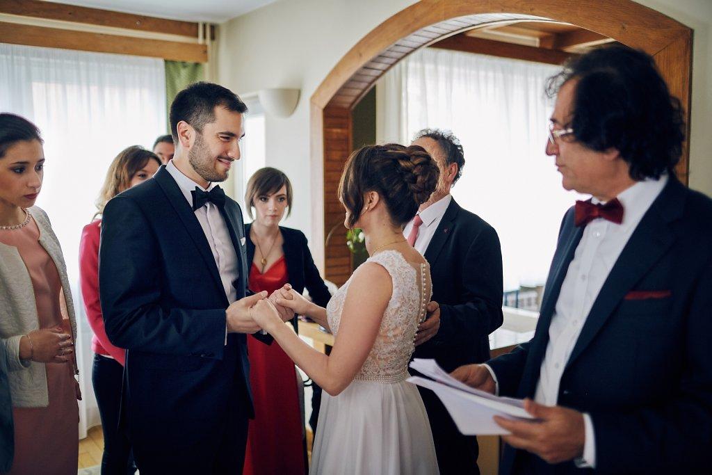 Sesja ślubna - Ślub Oli i Darka. Janiowe Wzgórze