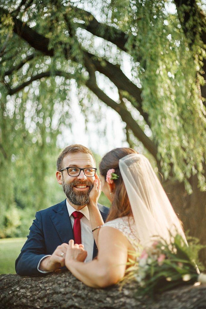 Fotografie ze ślubu - Plener Izy i Łukasza