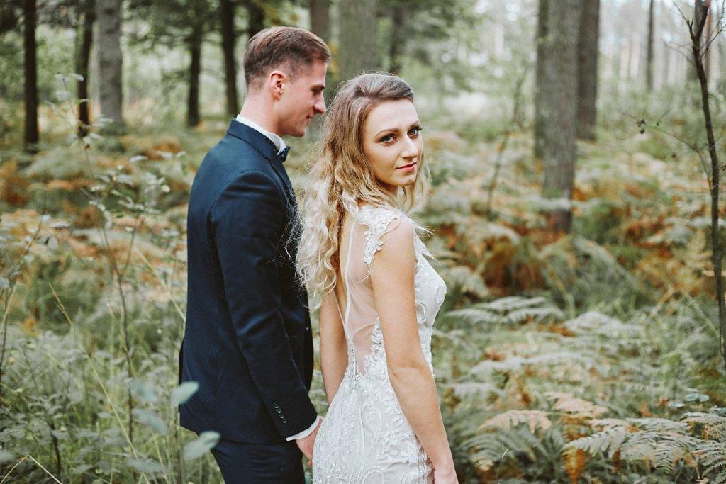 Ślubna fotografia - Spacerem po miłość