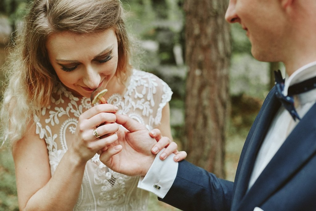 Fotografie ze ślubu - Spacerem po miłość