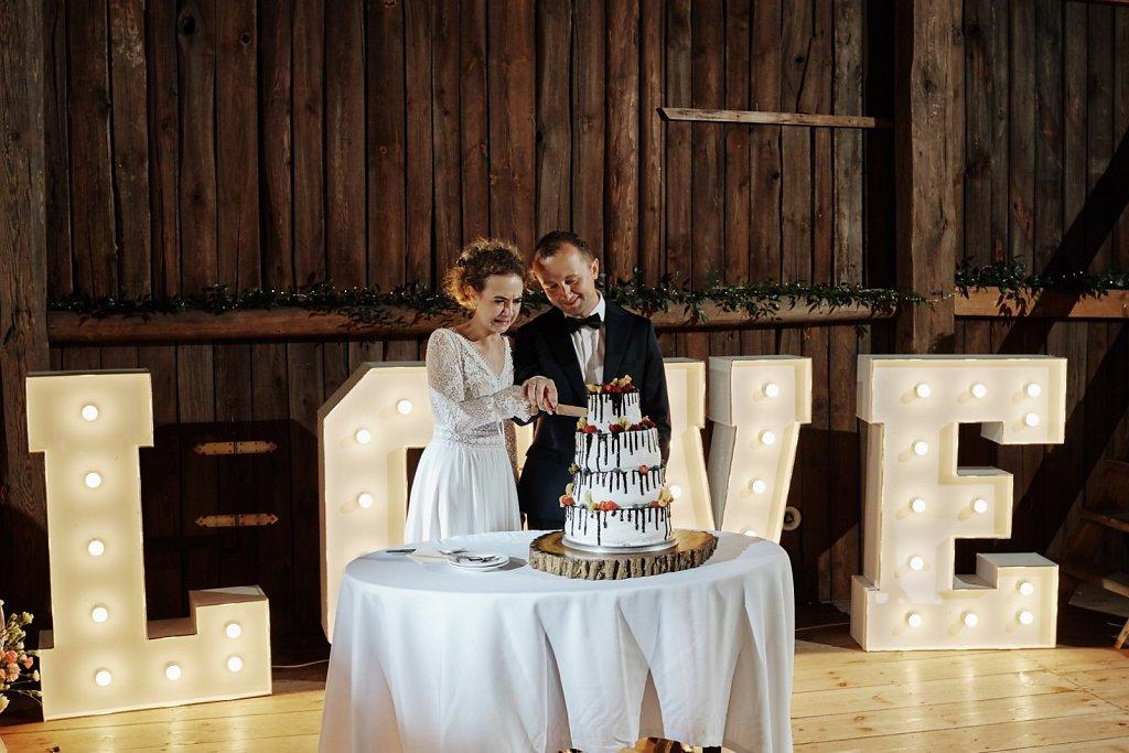 Fotografie ze ślubu - Wesele w Folwarku Wiązy
