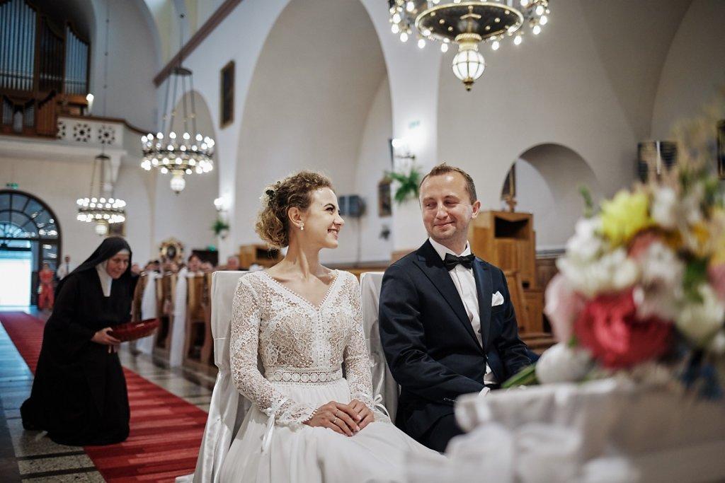 Ślubna fotografia - Wesele w Folwarku Wiązy