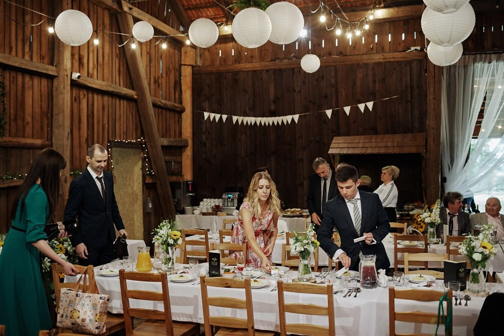 Sesja ślubna - Wesele w Folwarku Wiązy