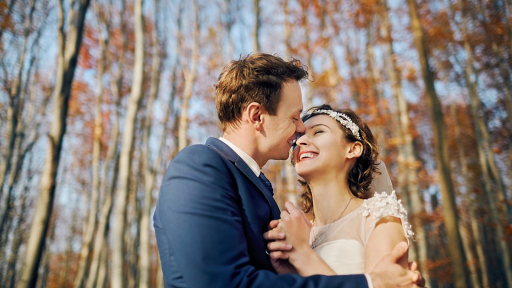 Ślubna fotografia - Plener ślubny Sabiny i Karola