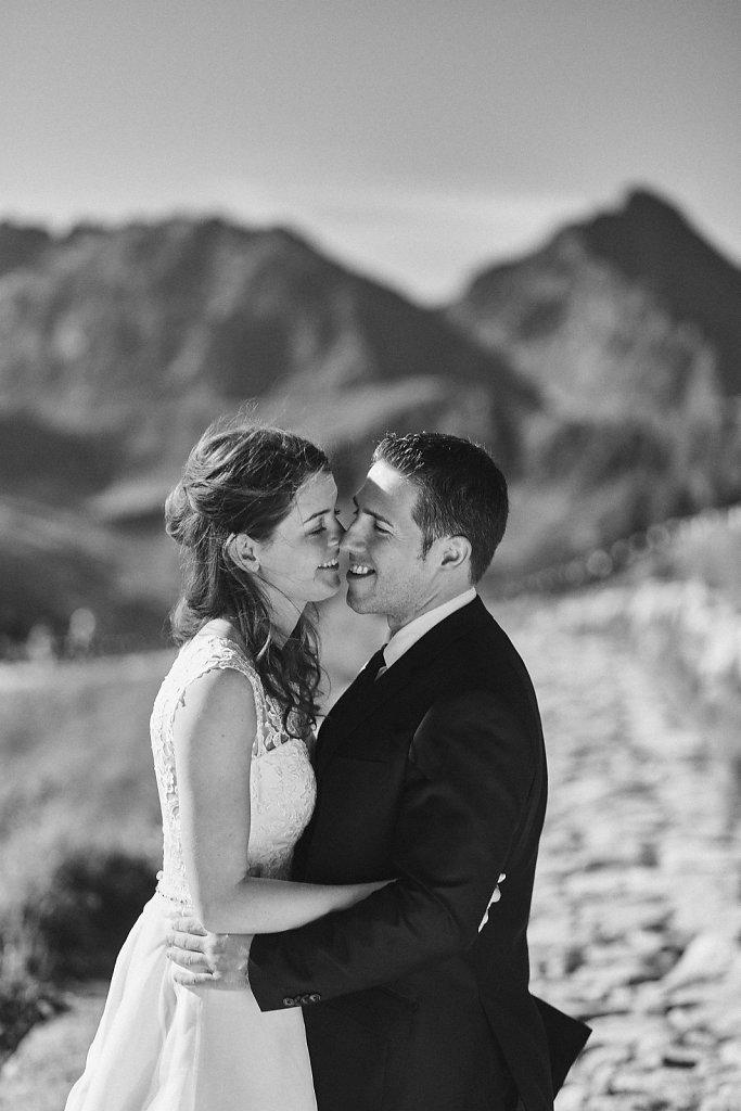 Fotografie ze ślubu - Sesja plenerowa w Tatrach