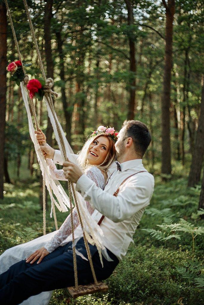 Album ślubny - Sesja ślubna z pasją