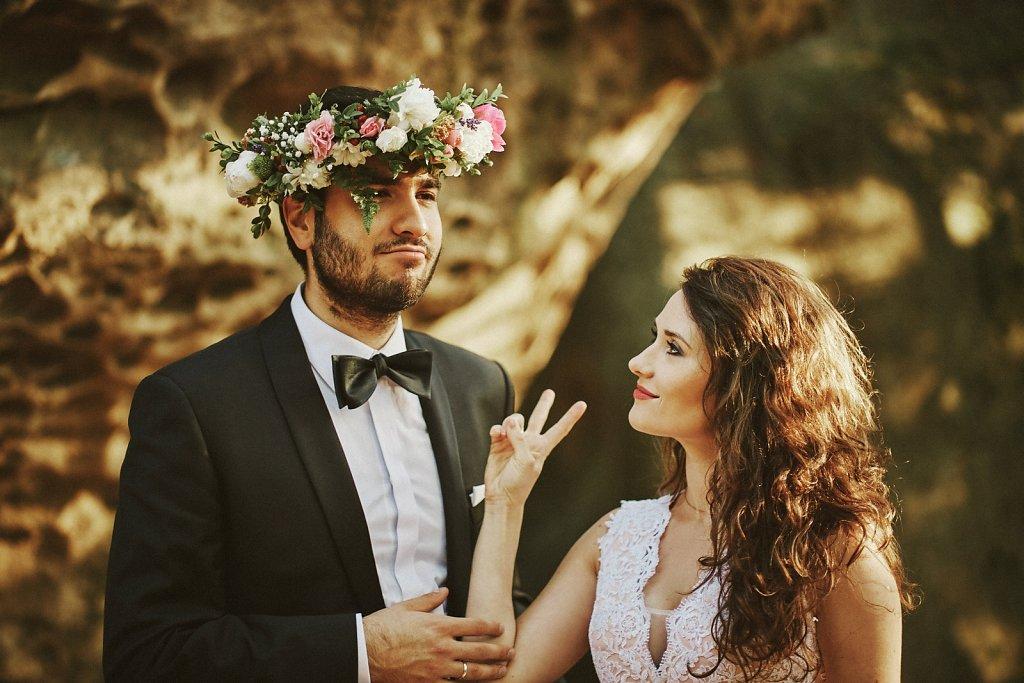 Fotografie ze ślubu - Sesja ślubna Oli i Darka
