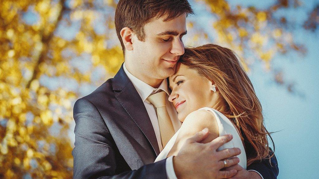 Fotografie ze ślubu - Zdjęcia z sesji plenerowych