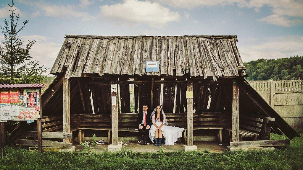 Album ślubny - Zdjęcia z sesji plenerowych