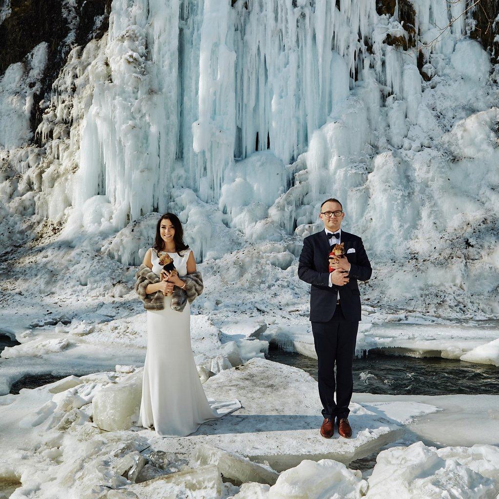 Ślubna fotografia - Wesele Mateusza i Jagody