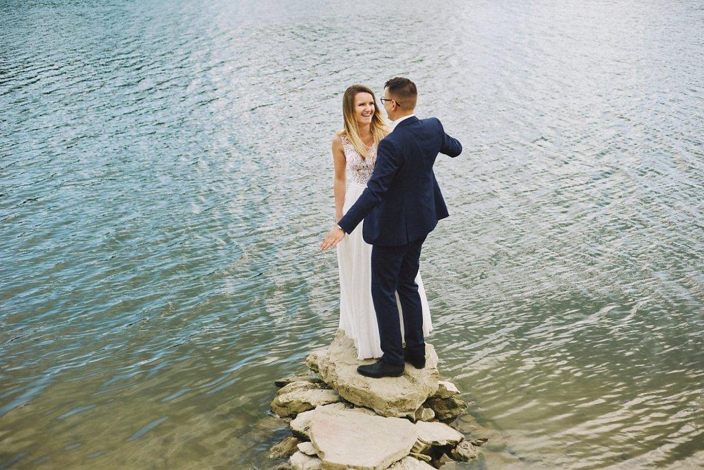 Sesja ślubna - Wiosenny plener ślubny